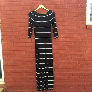 {Zara} Striped Knit Dress